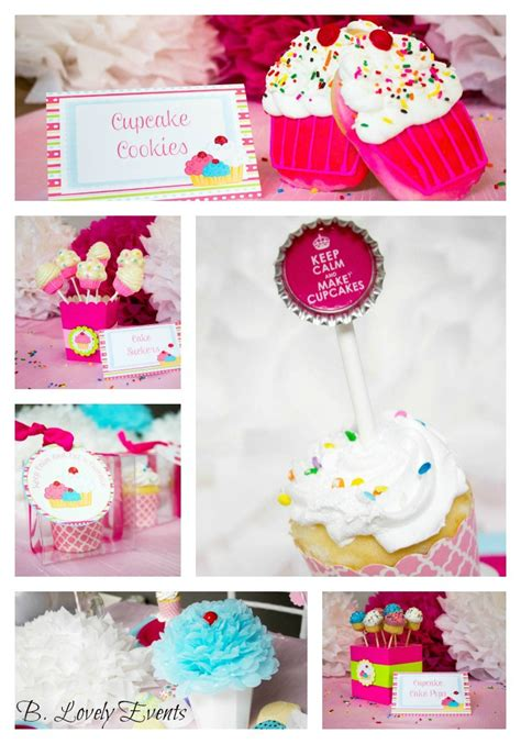 {too Cute!} Cupcake Party  B Lovely Events