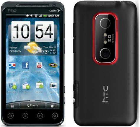 htc 3d phone htc evo 3d 4g android phone sprint