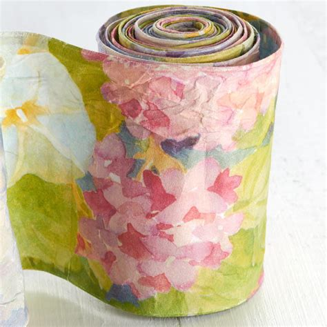 shabby chic ribbon shabby chic floral paper wired ribbon new items