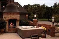 good looking spa patio design ideas Backyard Ideas for Hot Tubs and Swim Spas