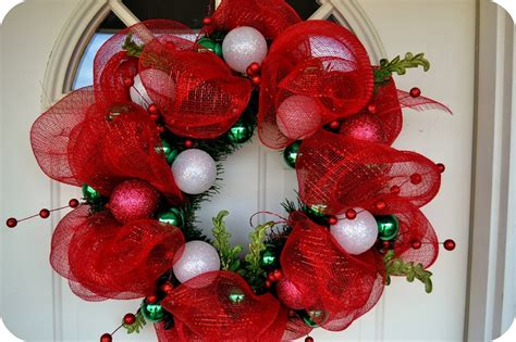 How To Make A Mesh Wreath 30 Diys With Instructions