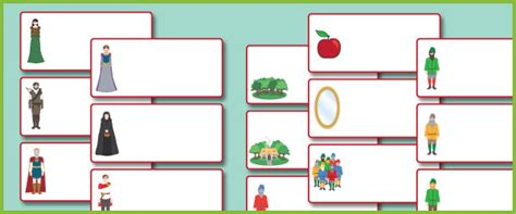 snow white editable labels fairy tale teaching resources