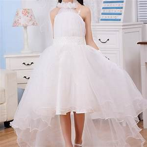 princess fancy formal dresses design for party white short With dresses for 10 year olds for a wedding