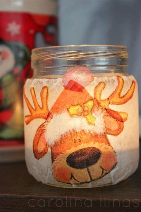 farolitos  navidad  frascos reciclados artividades