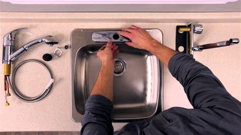 demonter robinet evier cuisine rona comment installer ou remplacer un robinet sur un