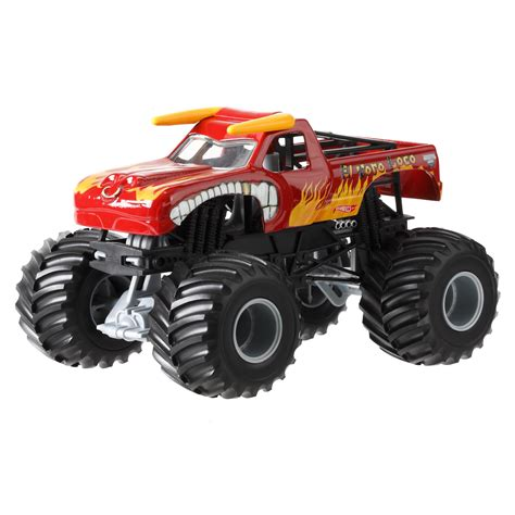 Wheels Monster Jam Avenger 1 24 Die Cast Vehicle