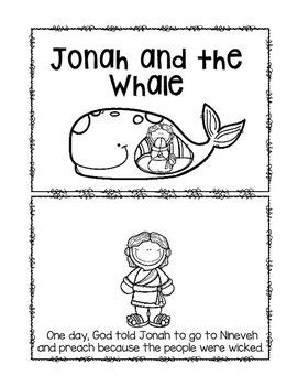 jonah and the whale emergent reader retelling sunday 304 | d36ff33040b1f6c6e7c33e3fd4a55b52