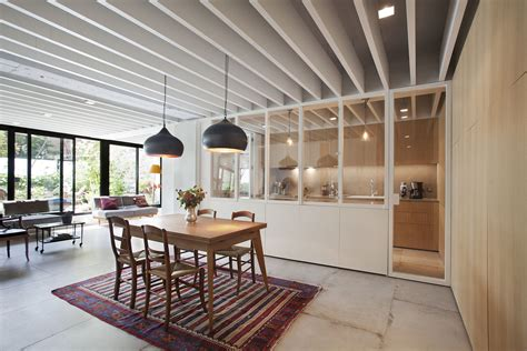 Small Modern Industrial Apartment by From Parking Lot To Pleasing Interiors Industrial Modern