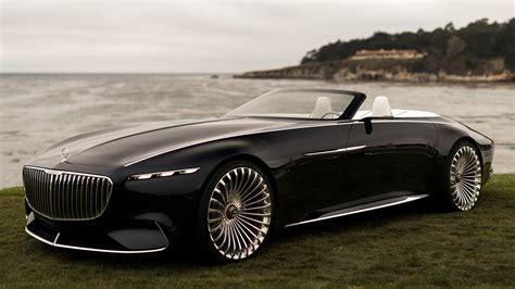 vision mercedes maybach  cabriolet wallpapers