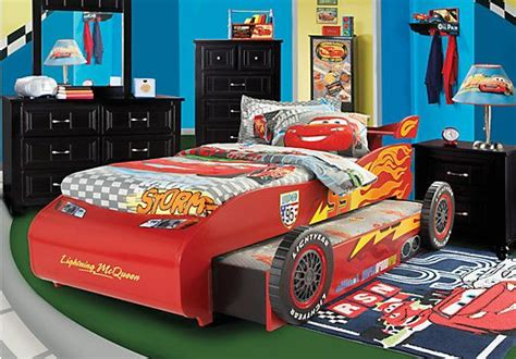 Shop For A Disney Cars Lightning Mcqueen 7 Pc Bedroom At