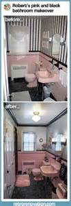 pink and black bathroom ideas pink bathrooms archives retro renovation