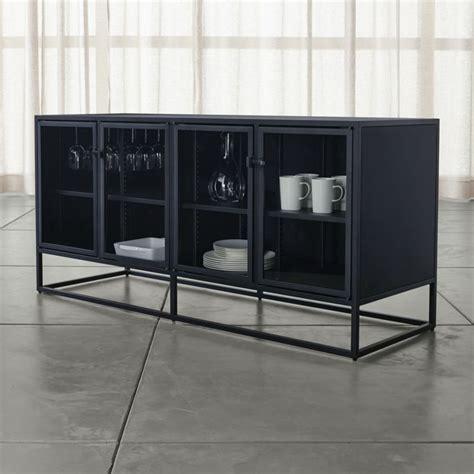 casement black large sideboard reviews crate  barrel