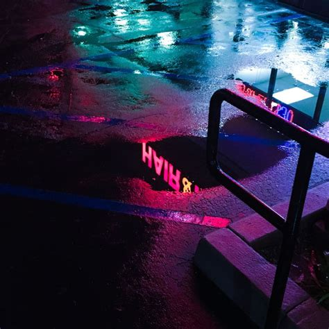pinterest sunkissedmani nighttime aesthetic neon