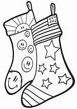 Coloring Sock Colorings sketch template