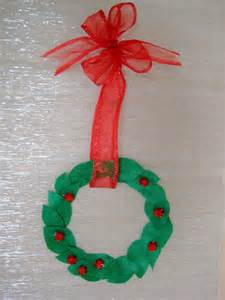 4 crazy kings christmas kids craft simple wreath