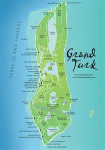 Turks and Caicos Cruise Port Map