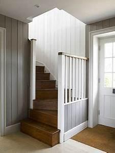 painting wood paneling to make it look cottagey instead of With charming peindre des poutres en bois 5 peinture poutre en bois bfmdeco