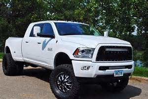 white dodge ram dually cummins dodge ram lifted trucks pinterest - White Dodge Ram Cummins Lifted