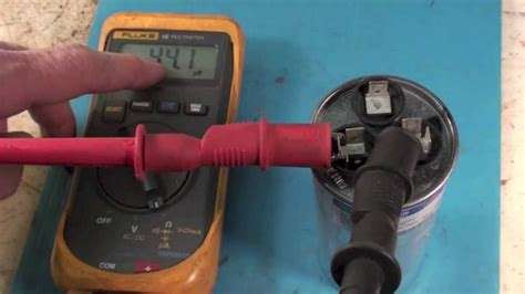 troubleshoot  air conditioning dual capacitor youtube