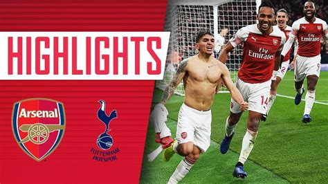 arsenal   tottenham goals highlights fans