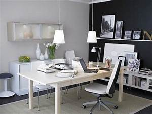 Contemporary residence office design and style suggestions for Cozy contemporary home office
