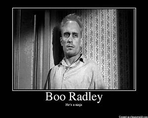 Epic Book Nerd:... Boo Radley Mysterious Quotes