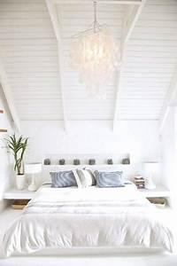Deco Chambre Blanche : 11 chambres blanche pour bien se reposer deco cool ~ Zukunftsfamilie.com Idées de Décoration