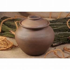 Pots En Terre Cuite Carrefour : pot en terre cuite fait main avec couvercle pour achat ~ Dailycaller-alerts.com Idées de Décoration