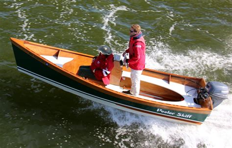 Wooden Boat Plans Center Console by Wooden Boatbuilder Releases Center Console Kit Option