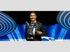 Cristiano Ronaldo, Europe's Best Player Real Madrid CF