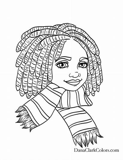 African Coloring Pages American Printable Books Getcolorings