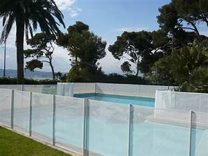 cloture securite beethoven prestige blanche distripool With barriere de securite piscine beethoven