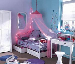 une chambre de petite fille bleue With chambre bleu pour fille