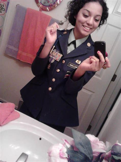 jrotc class  uniform skinny nude women