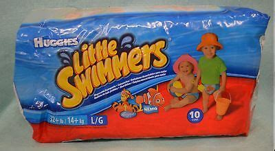 NEW Huggies LITTLE Swimmers 10 CT Sz LARGE 32+ lbs 2008 ...