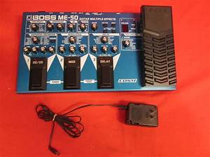 Boss Me50 Guitar Multiple Effects Pedalboard