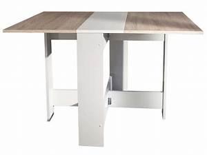 Table De Cuisine Pliante Ikea : table de cuisine pliante sishui coloris blanc ch ne ~ Melissatoandfro.com Idées de Décoration