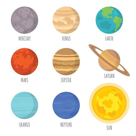 Planets Clipart Planets Clipart Mercury Pencil And In Color Planets