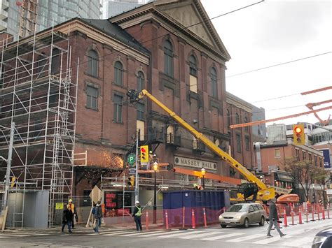 Ford Government To Invest 30m In Massey Hall Renovation
