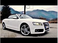 Audi S5 Cabriolet Driving, Accelerations and Sound YouTube