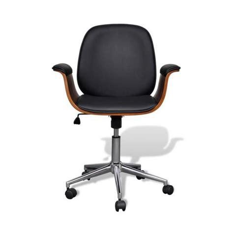 chaise pivotante pas cher superbe chaise pivotante avec accoudoir en cuir artificiel réglable achat vente chaise salle a