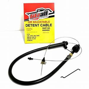 700r4 Th200 Transmission Kick Down Detent Cable Braided