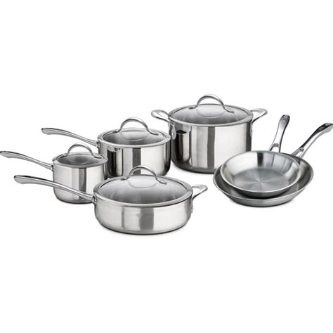 better homes and gardens stainless steel cookware set