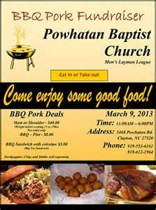 Chicken BBQ Fundraiser Flyer Template