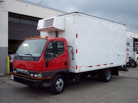 mitsubishi truck 2004 sell used 2004 mitsubishi fuso 14ft refrigerated box truck