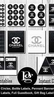 144 best images about Coco Chanel themed birthday party on ...
