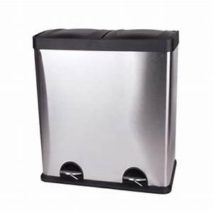Poubelle Tri Selectif 2 Bacs : poubelle 2 bacs cuisine ~ Dailycaller-alerts.com Idées de Décoration