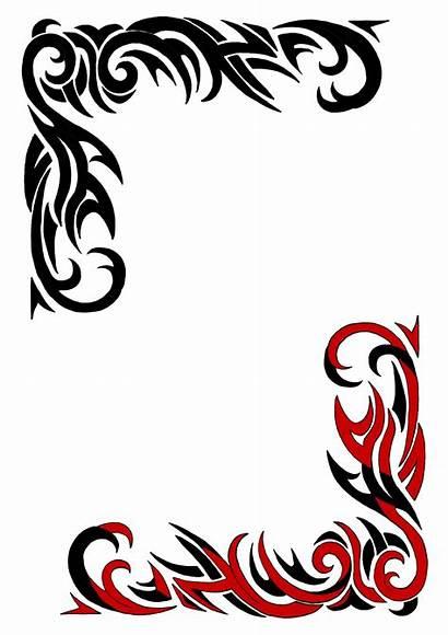 Tribal Border Designs Borders Clip Cool Clipart