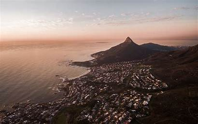 Cape Town Africa South Sea Aerial Macbook