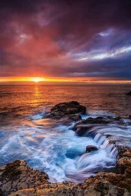 Beautiful Sunset Kona Hawaii